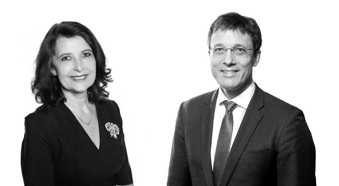 Hon.-Prof. Dr. Irene Welser  and Dr. Holger Bielesz, LL.M.